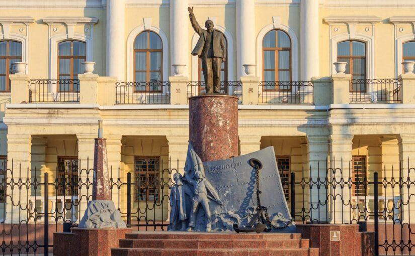 В Новороссийске 95 лет назад открыли первый на Кубани памятник Ленину и горожанам