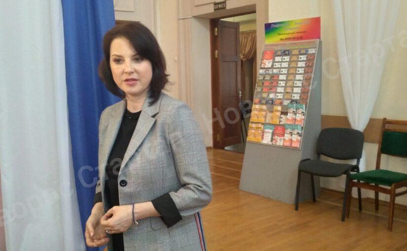 Чемпионка мира по фигурному катанию Ирина Слуцкая рассказала новороссийцам, как побеждать свои болезни