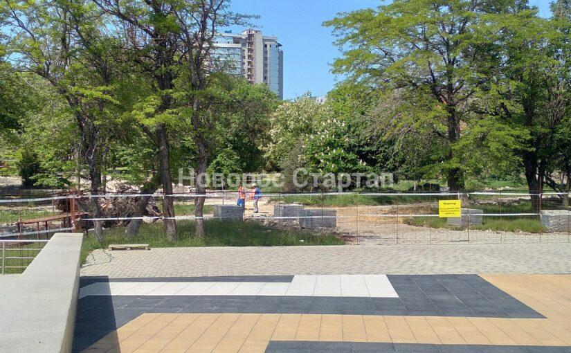 Сколько деревьев в новороссийском парке Фрунзе принесли в жертву архитектуре
