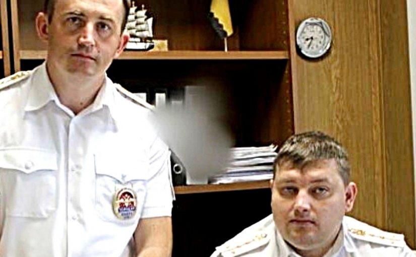 Два новороссийских капитана пришли на помощь семье, где испортился телевизор