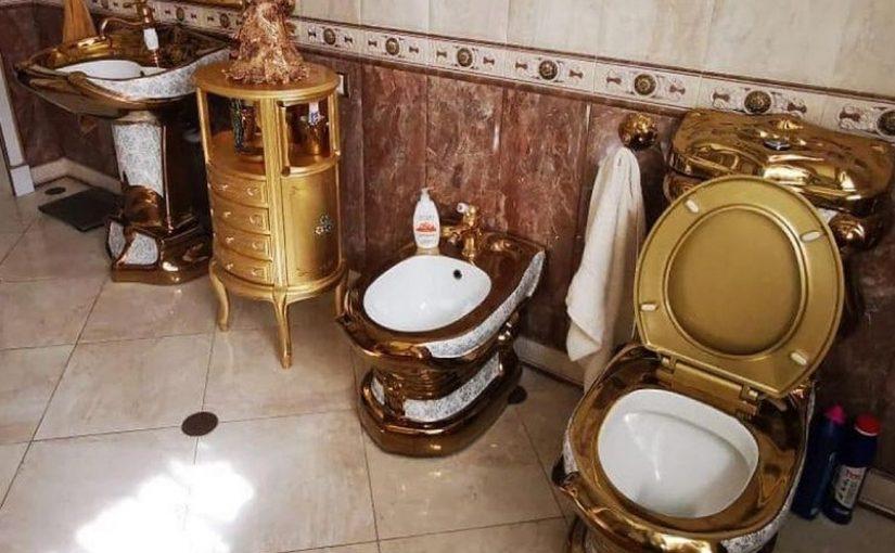 Начальство ГИБДД в Ставрополье «заработало» на дворцы и золотые унитазы