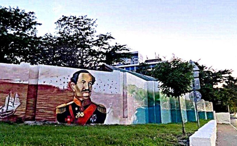 Этично ли в Новороссийске изображать на стене Лазаря Серебрякова после Дзюбы?