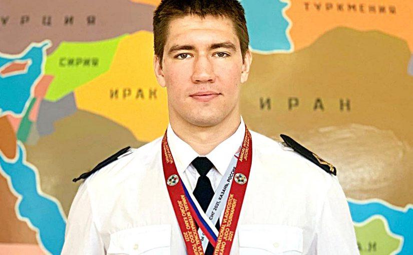 Курсант морского университета в Новороссийске взял бронзу на «взрослом» чемпионате по дзюдо