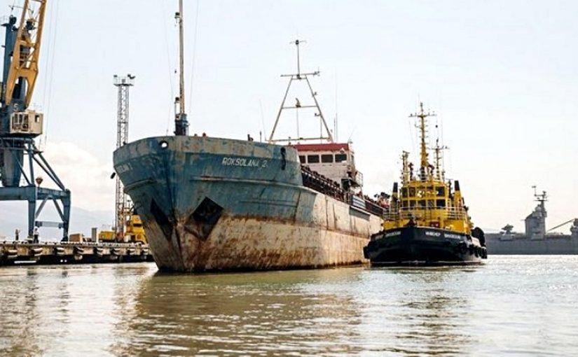 В Новороссийске судно «Роксолона», где голодали моряки, убрали с видного места и переводят в бесхозный объект