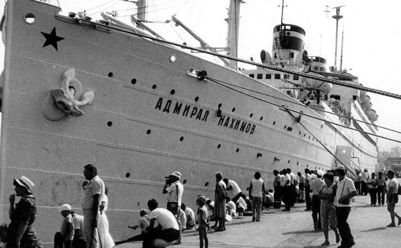 Над затонувшим «Адмиралом Нахимовым» с помощью спутника обнаружили нефтяные пятна