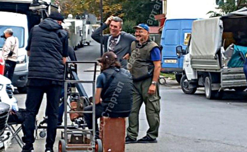 В Новороссийске снимали, как снимается кино (видео)